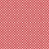 Rosa Hintergrund Rosa Hintergrund mit den weißen und roten Punkten Stockfotos
