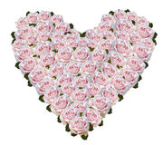 Rosa hjärta Royaltyfri Foto