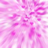 Rosa hjärtabakgrund vektor illustrationer