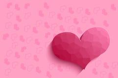 Rosa hjärtor. Arkivfoto