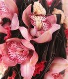 Rosa Hochzeitsblumenstrauß Stockfotos