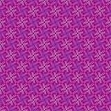 Rosa infinito da quadriculação Foto de Stock Royalty Free