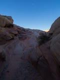 Rosa kanjon Arkivfoton