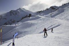 Rosa Khutor Alpejski kurort Zdjęcia Stock