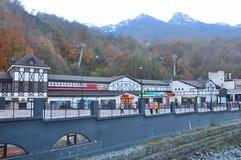 Rosa Khutor Alpine Resort fotografia de stock royalty free