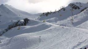 Rosa Khutor Alpine Resort stock video