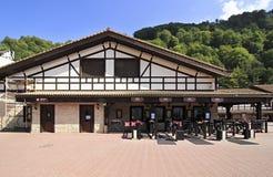 Rosa Khutor Alpine Resort. In Krasnaya Polyana Royalty Free Stock Photos