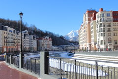 Rosa Khutor. Stock Photography