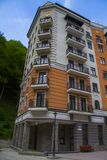 Rosa Khutor Alpine Resort fotos de stock royalty free