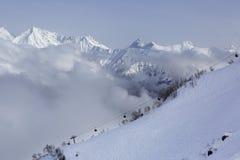 Rosa Khutor Alpine Ski Resort Stock Fotografie