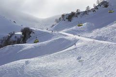 Rosa Khutor Alpine Ski Resort Stock Photos