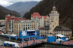 Rosa Khutor Royalty Free Stock Photography