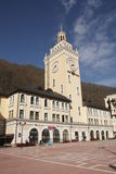 Rosa Khutor town hall, Sochi Royalty Free Stock Photos