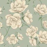 rosa konst för blomma stock illustrationer