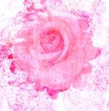Rosa konst med bleknar abstrakt textur Royaltyfri Bild