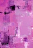 Rosa Kunst-Malerei Lizenzfreie Stockfotos