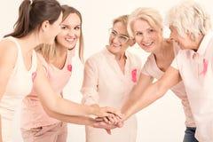 rosa kvinnor Royaltyfria Foton