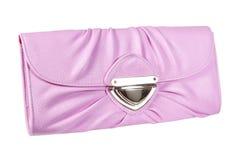 rosa kvinnor för handväska s Arkivbild