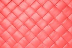 Rosa läder arkivbild