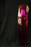 rosa liten medicinflaska för doft Arkivfoto