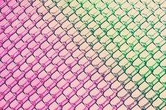 Rosa a los colores verdes en el hielo Diamond Patterns Foto de archivo libre de regalías