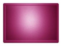 Rosa metallische Platte stock abbildung