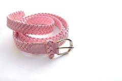 rosa Modegurt Stockfotografie