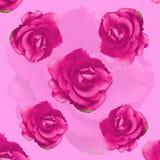 Rosa modell för rossjalarpund stock illustrationer