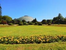 Rosa Mota Pavilion em Porto Fotos de Stock Royalty Free