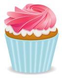 rosa muffin för vektor Arkivbild
