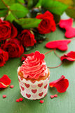 Rosa muffiner Royaltyfria Bilder