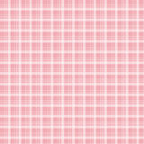 Rosa Musterhintergrund des Gewebes und des Schottenstoffs lizenzfreie abbildung