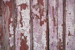 Rosa och brun verklig trätexturbakgrund Tappning och gammalt royaltyfri foto
