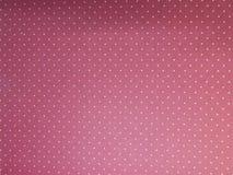Rosa oscuro con el fondo blanco del papel pintado de los puntos fotos de archivo libres de regalías