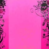 rosa på måfå för bakgrund Arkivfoto