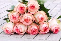Rosa para o dia de mães Fotografia de Stock Royalty Free