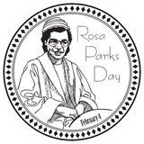 Rosa Parks Day illustration de vecteur
