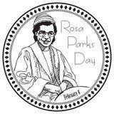 Rosa Parks Day Lizenzfreies Stockbild