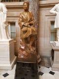 Rosa Parks statua w USA kapitału rotundzie Obraz Royalty Free