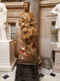 Rosa Parks Statue in the US Capital Rotunda Royalty Free Stock Image