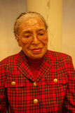 Rosa Parks Wax Figure. A wax figure of activist Rosa Parks at Madame Tussauds in New York City Stock Image