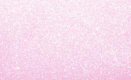 Rosa pastello leggero, brillare, scintillare e splendere fondo astratto fotografie stock libere da diritti