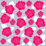 Rosa pattern2 Foto de Stock