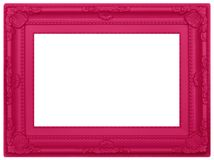 Rosa plast- bildram Royaltyfri Fotografi