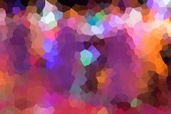 Rosa Polygon für Hintergrund Lizenzfreie Stockbilder