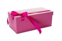 rosa present för ask Arkivfoton
