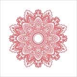 Rosa prydnad vektor illustrationer