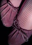 rosa pumpar arkivfoto