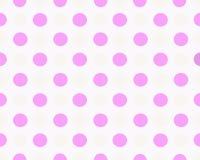 Rosa punktierter Hintergrund Lizenzfreie Stockbilder