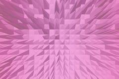 Rosa pyramidbakgrund Royaltyfri Bild